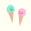 bake: (ice-cream lover)