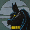 omens: Batman (dcu - batman/moon)