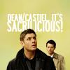 aesc: (dean/cas is sacrilicious!)