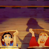 myluckyseven: Miguel and Tulio are both in barrels. Like, sheepishly. (we're both in barrels)