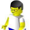 ext_54464: Michael as a Lego minifig (Default)
