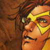 omens: kid flash being pretty (dcu - bart gaze)