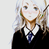 fangirl42: Luna Lovegood (a blonde-haired girl in a Hogwarts uniform, with a wand tucked behind her ear like a pencil) (lunacy)