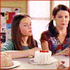 bossymarmalade: lorelai and rory gilmore choose cake (it's a tough job)