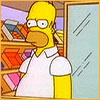 bossymarmalade: homer simpson annoyed at the kwik-e-mart (shut up -- that's why!)