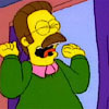 bossymarmalade: ned flanders loves purple drapes (all my life i've wanted purple drapes!)