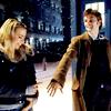 pinkandyellow: (Ten - Hand - TARDIS - Snow)
