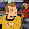bossymarmalade: kirk and uhura on the bridge (for one hundred quatloos)
