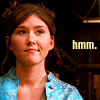 "sineala: Kaylee (from Firefly) looks to one side, dubiously; the text reads ""hmm."" (hmm)"