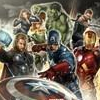 grammarwoman: Painted poster of the Avengers (Avengers assemble!)