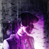 randomling: The Eleventh Doctor (of Doctor Who) cast in purple light. (purple eleven)