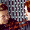 jb_slasher: clint barton, natasha romanoff; the avengers (skinny love)