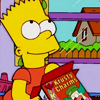 bossymarmalade: bart simpson hopes for a prize in the cereal box (you gotta be lucky *sometime*)