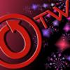 zooey_glass: OTW logo with fireworks (OTW Fireworks)