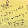 wishfulclicking: cassette unlooping (music: overandover)