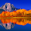 penny: ((setting) fall lake)