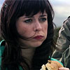 bossymarmalade: gwen cooper eats a roadside hamburger (in rich creamery butter)