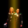 mjolnir_retriever: Thor and Loki side by side, surrounded by darkness (brothers: fire in the dark)