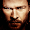 mjolnir_retriever: Thor in close-up, looking as if he might kill you in a second or two (thunderous battle god)