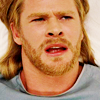 mjolnir_retriever: Thor in a hospital gown, looking upset and angry and bleary (hospital protestyface)