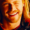 mjolnir_retriever: Thor winking, with a grin (winking omg)