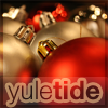 eleanorjane: christmas baubles, captioned 'yuletide' (yuletide)