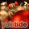 eleanorjane: christmas baubles, captioned 'yuletide' (yuletide)