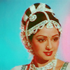 bossymarmalade: classic indian woman in pinks and blues (miss amar chitra katha)