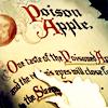 storiwr: (Disney Snow White Poison Apple Text)
