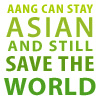 bossymarmalade: aang can stay asian and still save the world - green (this is not a tan)