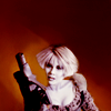 randomling: Chiana (Farscape) holding a gun. (chiana with a gun)