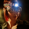 randomling: Claudia Donovan (Warehouse 13) looks mischievous in goggles. (claudia)