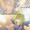 vane_nt: Aquarius Camus and Ophiuchus Shaina, from Saint Seiya. (Shaina Camus Saint Seiya)