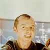 randomling: Scotty (Star Trek Reboot), soaked and grinning. (scotty)