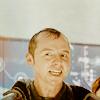 randomling: Scotty (Star Trek Reboot), soaked and grinning. (scotty)