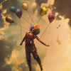 tirimi_el: held by balloons (fly away)