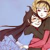 lira: (Jade & Rose hug)