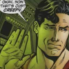 "dizmo: Comic Scan: Superman saying ""Okay, now that's just creepy."" (comics: now that's just creepy)"