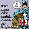 jcbaggee: Jesus (Captain America)