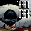 jcbaggee: Batman (Head Desk, Batman)