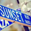 merryghoul: plaza & sunset, LA (plaza & sunset)