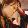 randomling: Toshiko Sato (Torchwood) rests her face on her hand. (sad tosh)