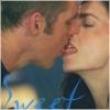 hopefulnebula: Farscape/John Crichton and Aeryn Sun kissing (Aeryn Sweet)
