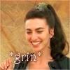 hopefulnebula: Farscape/Aeryn grinning (Aeryn Grin)