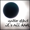 "hopefulnebula: ""Matter of fact, it's all dark"" on an eclipse (Eclipse)"