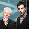 xdoop: (Sylar and Mr. Linderman.)