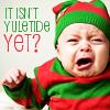"""skazka: Yuletide Baby icon. """"It isn't Yuletide *yet*?"""" (yuletide baby)"""