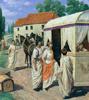 skazka: Ecce Romani textbook cover art. (ecce romani, latin club, school)