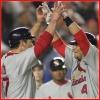 rizzo: (baseball • high five time)