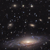 barefootsong: Many stars and galaxies. (across the universe)